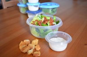 Homemade Salad Kit
