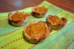 Rustic Pumpkin Pies