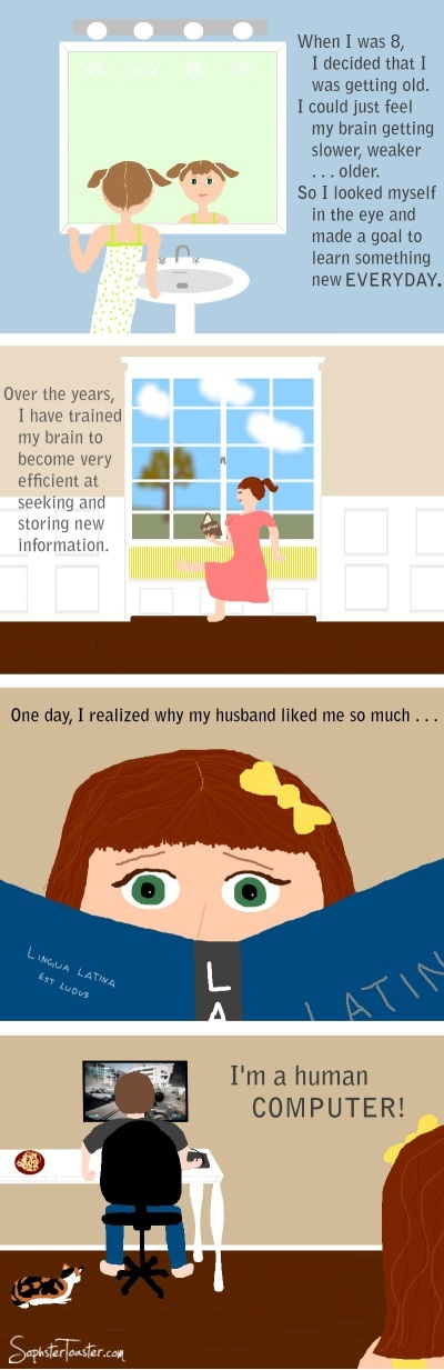 The Computer Programmer's Wife
