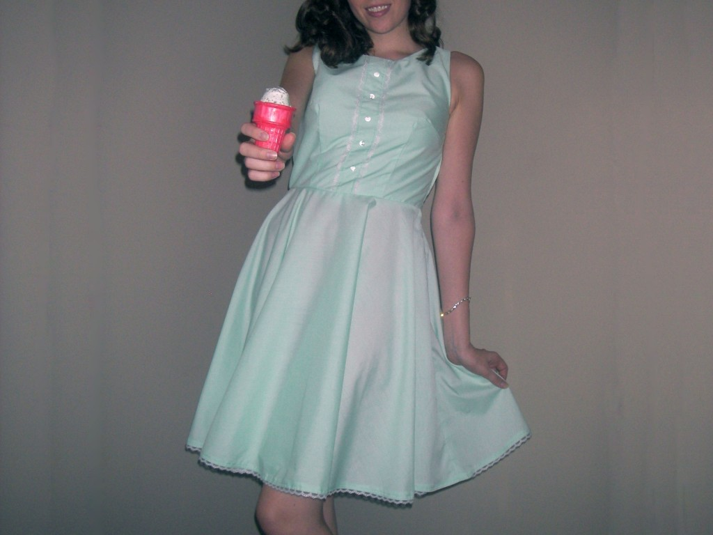 The Mint Sorbet Dress