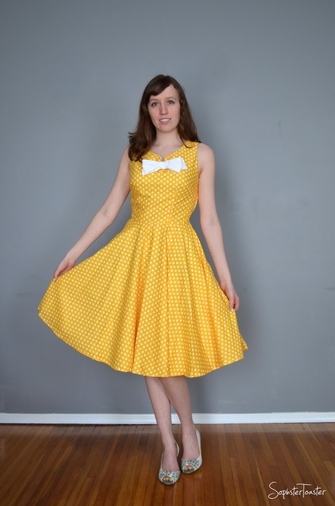 The Lemon Meringue Dress