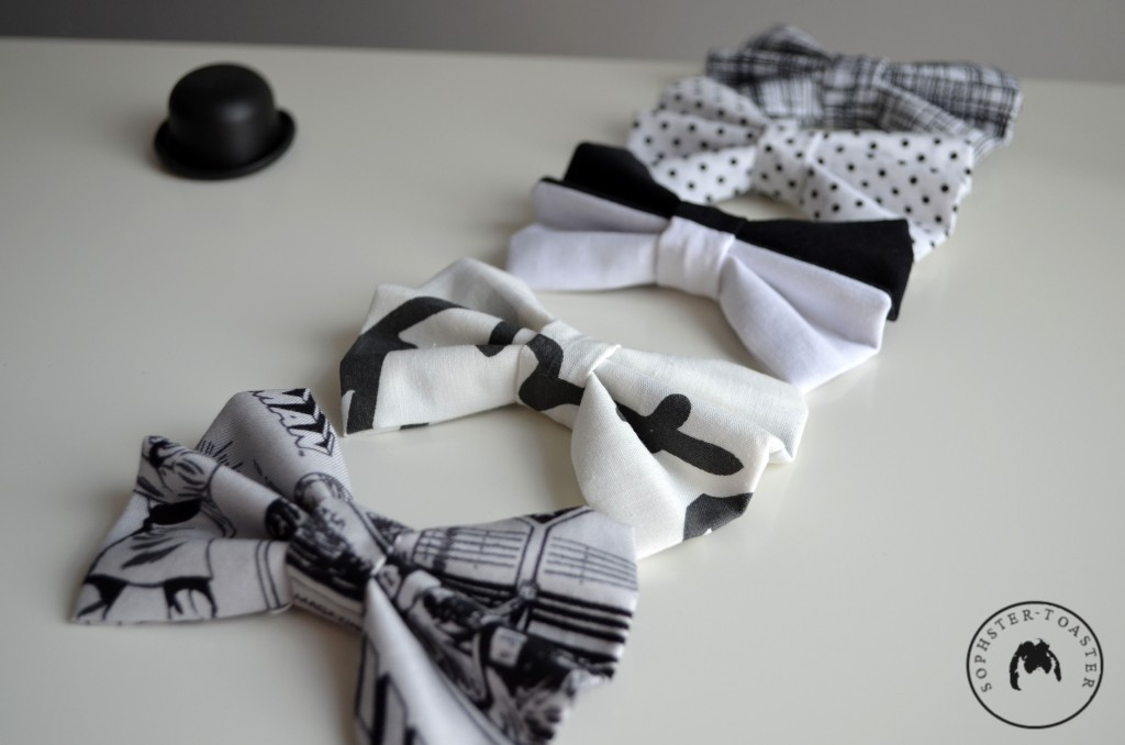 Monochrome Collection Hair Bows
