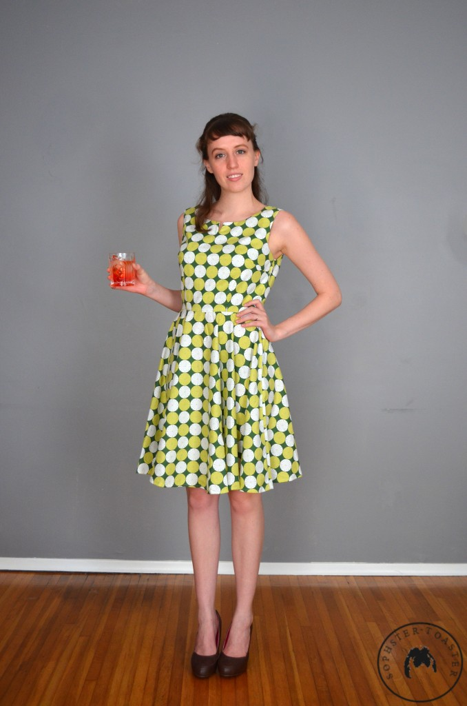The Cocktail Queen Dress