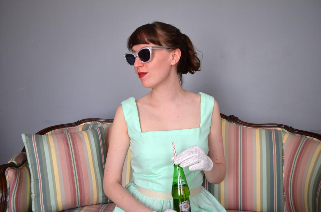 The Milkshake Dress in #Mint | Sophster-Toaster