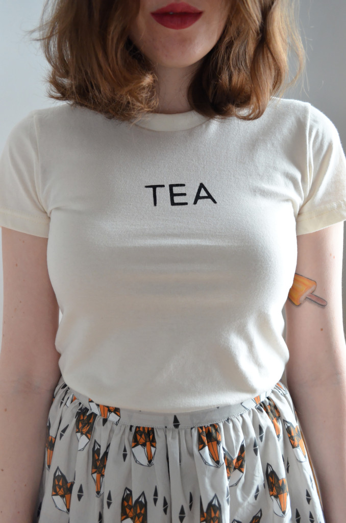 Tea T Shirt - Sophster-Toaster
