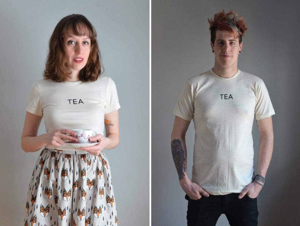 Tea T-shirt \\ Sophster-Toaster Giveaway