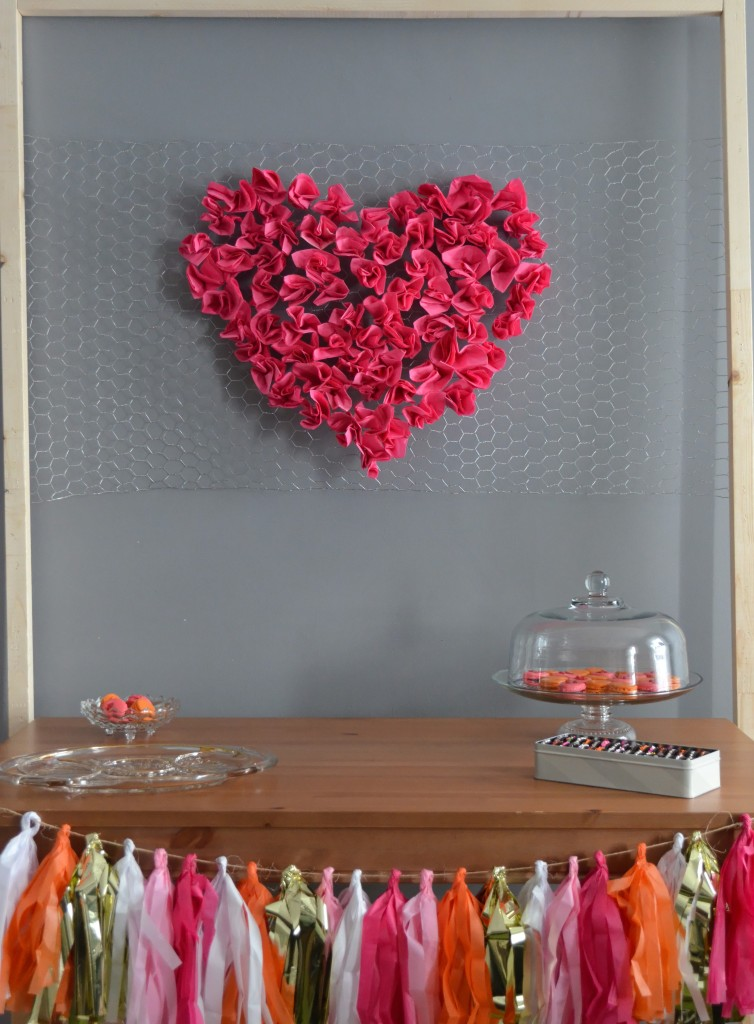 Valentine's Day Birthday Party Decorations