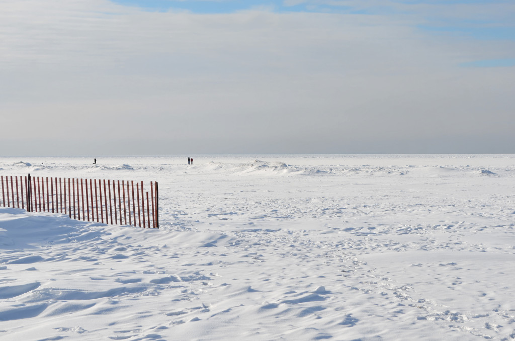 Port Dalhousie Beach in Winter - St. Catharines, Ontario, Canada