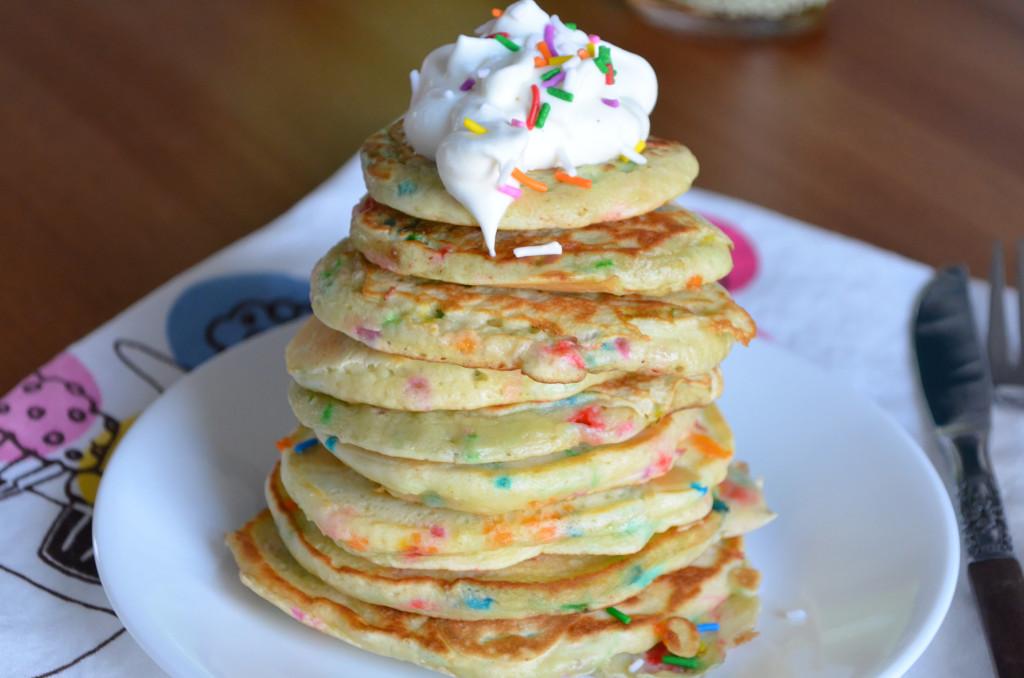 Birthday Cake Pancakes \\ Sophster-Toaster