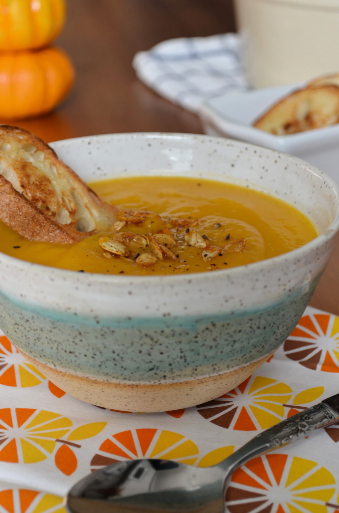 Butternut Squash and Ginger Soup \\ Sophster-Toaster Blog