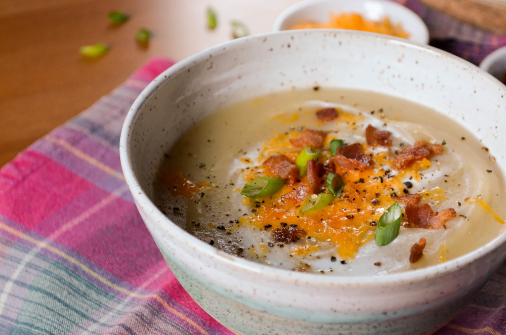 Baked Potato Soup \\ Sophster-Toaster Blog