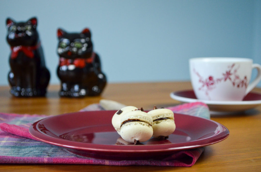 Chocolate Chip Cookie Macarons | Sophster-Toaster Blog