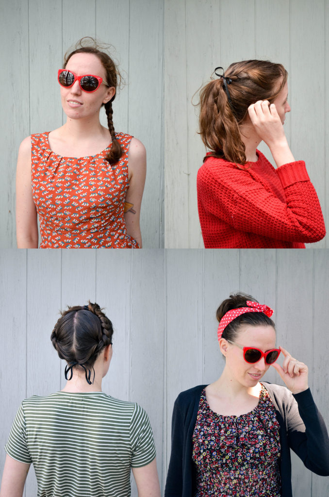 Dirty Hair: Four Days, Four Ways | Sophster-Toaster Blog