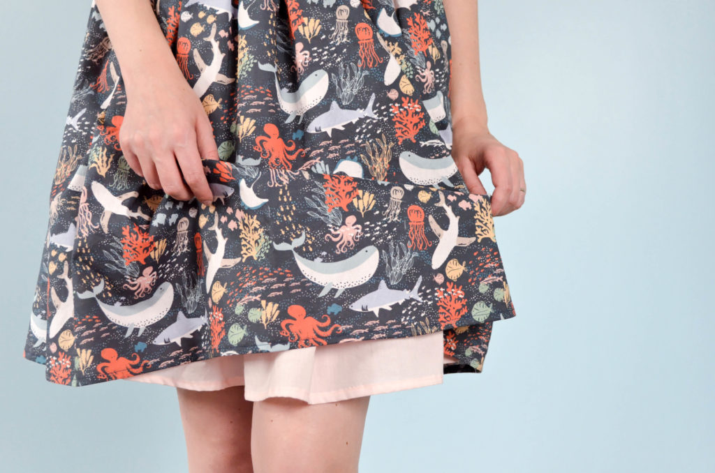 The Life Aquatic Skirt | Sophster-Toaster Blog
