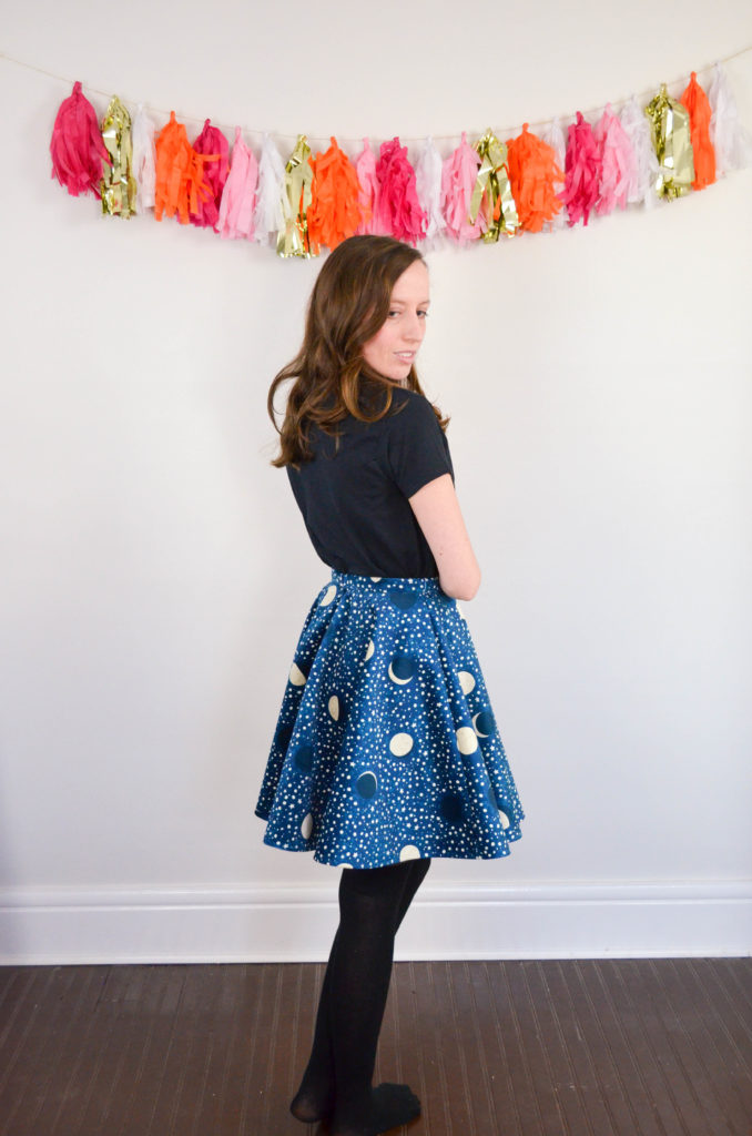 Night Skies and Lullabies Skirt | Sophster-Toaster Blog