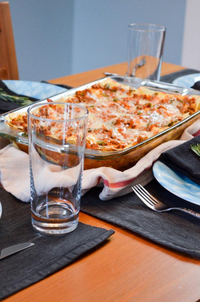 High Protein Vegetarian Lazy Lasagne   Sophster-Toaster Blog