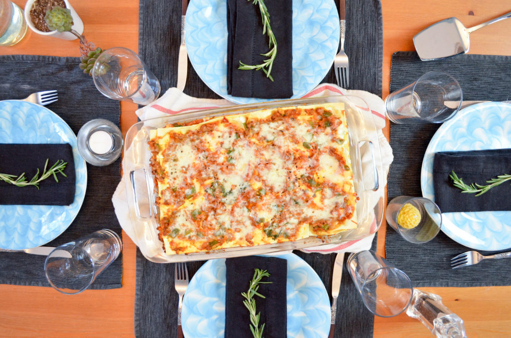 High Protein Vegetarian Lazy Lasagne | Sophster-Toaster Blog
