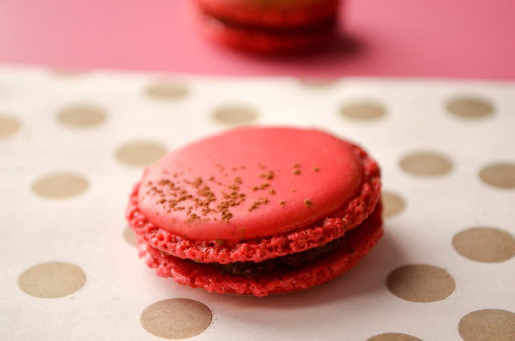 Chocolate Chili Macarons | Sophster-Toaster Blog