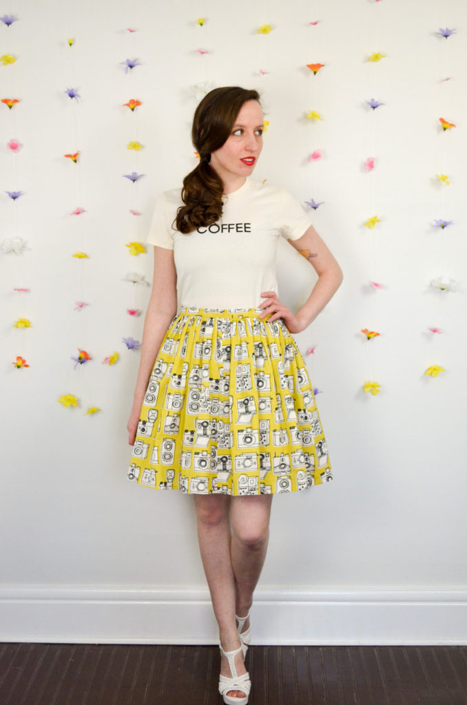 Shutterbug Skirt Two Ways | Sophster-Toaster Blog