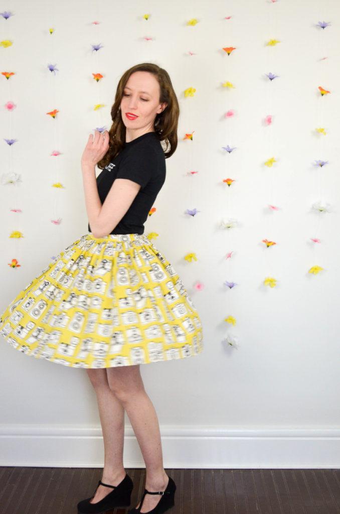 Shutterbug Skirt Two Ways | Sophster-Toaster Blog