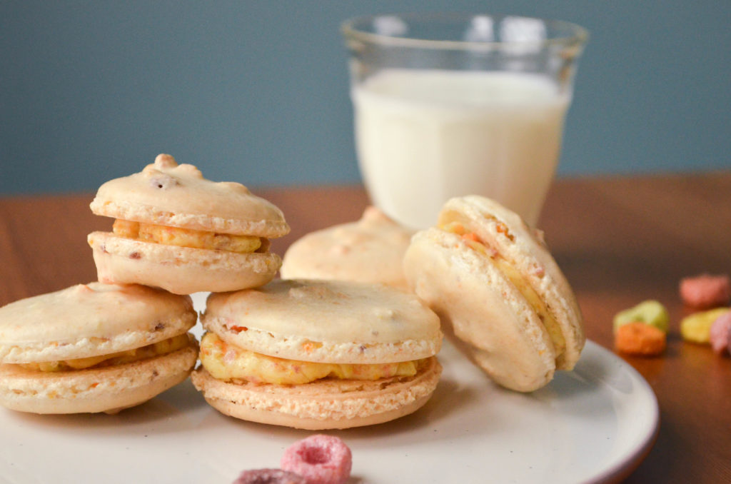 Froot Loops Macarons | Sophster-Toaster Blog