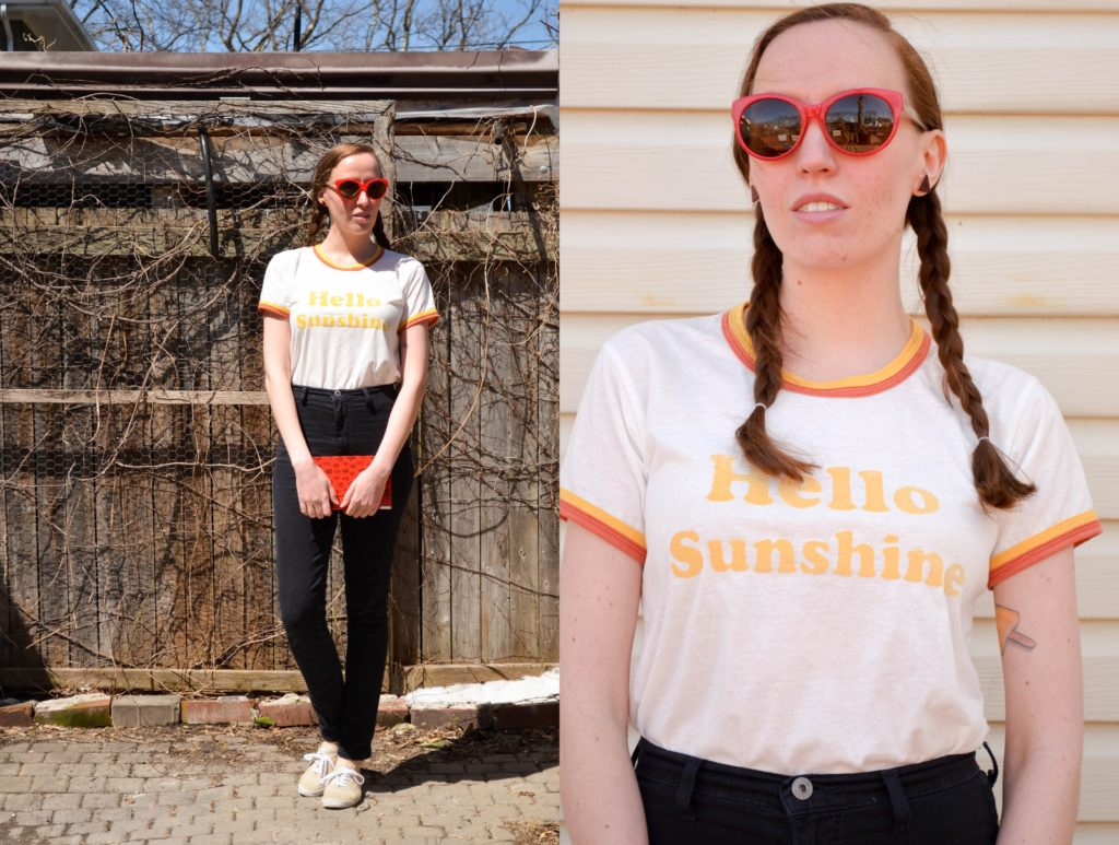 T-shirt Weather | Sophster-Toaster Blog