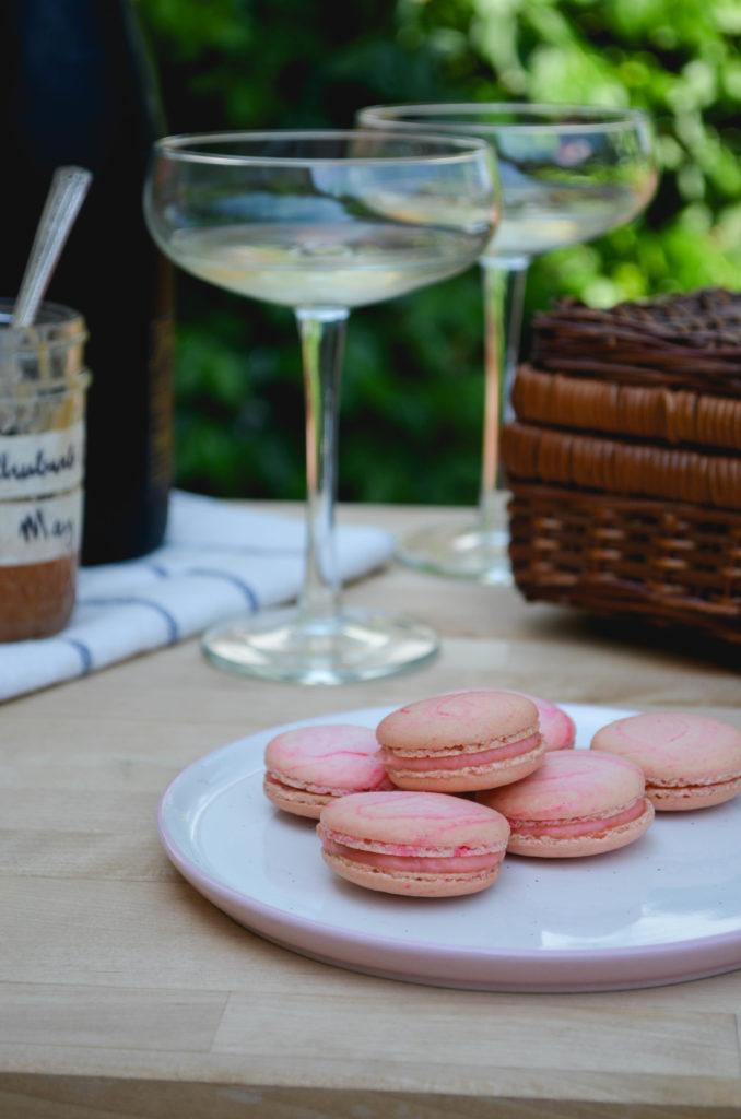 Garden Rhubarb Macarons | Sophster-Toaster Blog