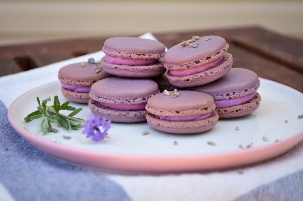 Lavender Macarons Sophster-Toaster Blog