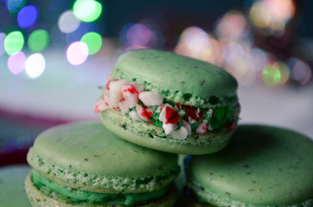 Peppermint Macarons | Sophster-Toaster