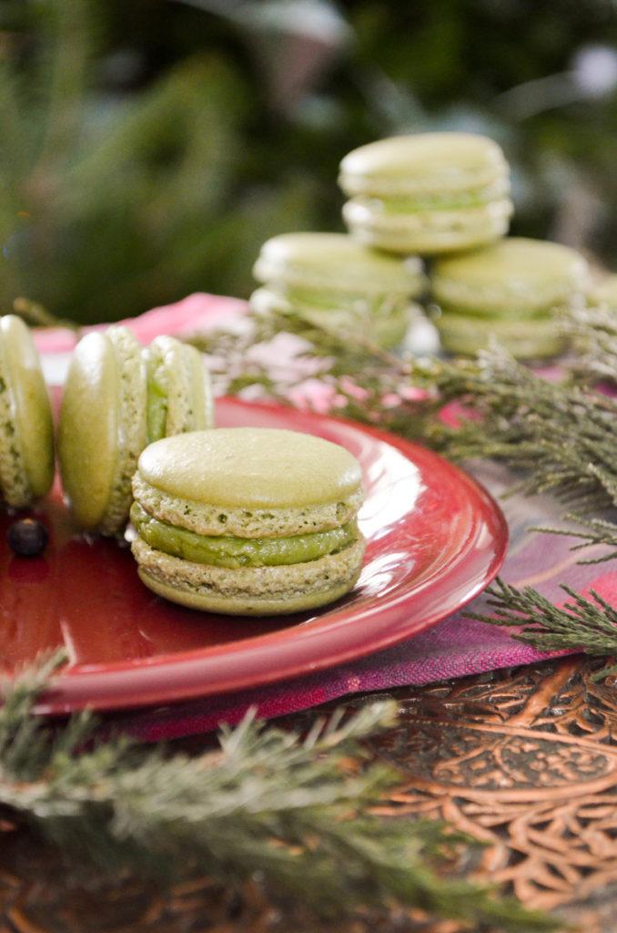 Juniper Macarons | Sophster-Toaster