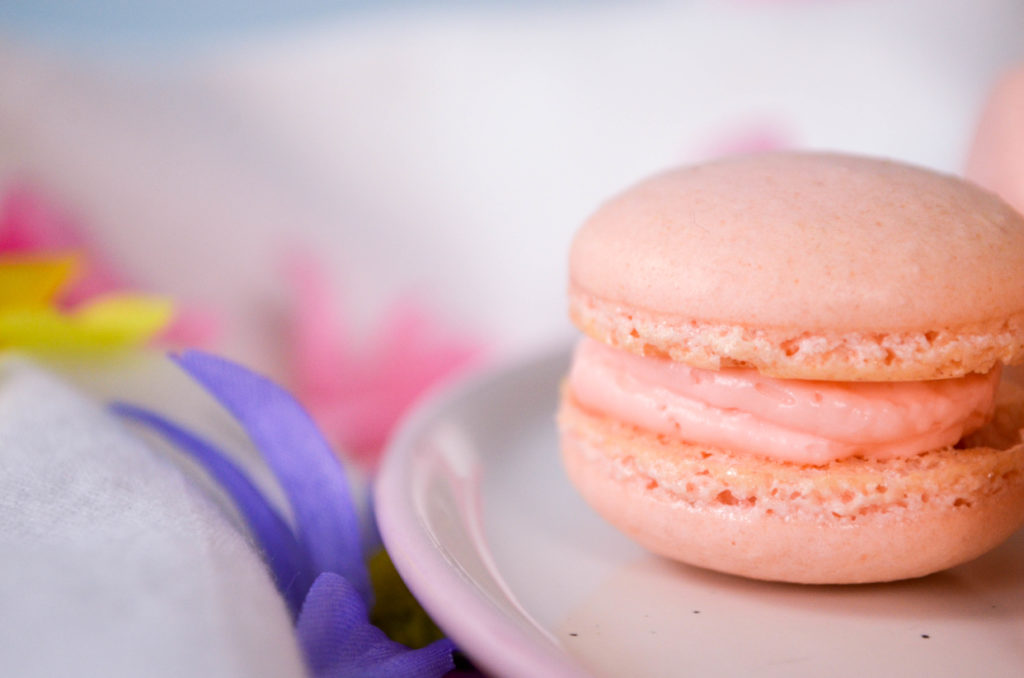 Rose Macarons | Sophster-Toaster