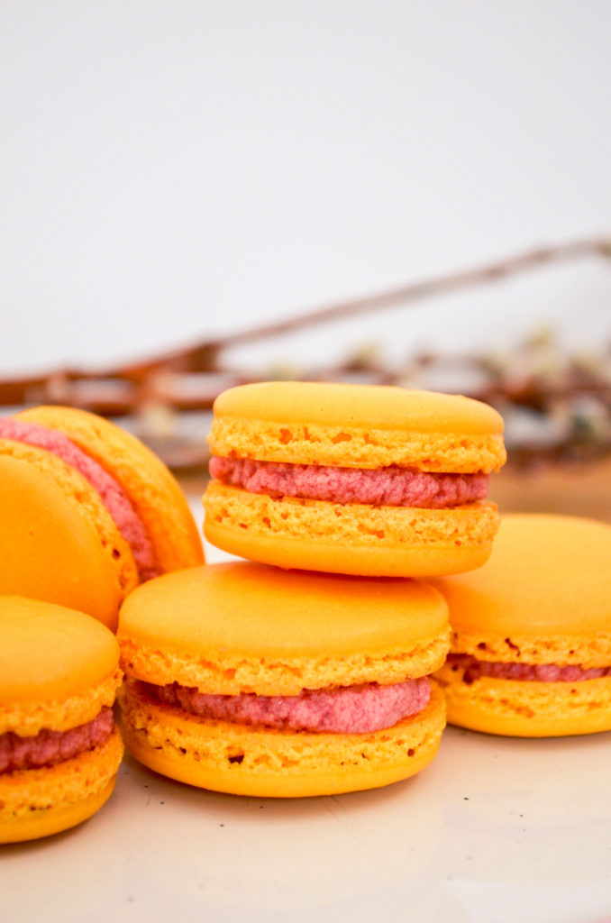 Raspberry Lemonade Macarons | Sophster-Toaster