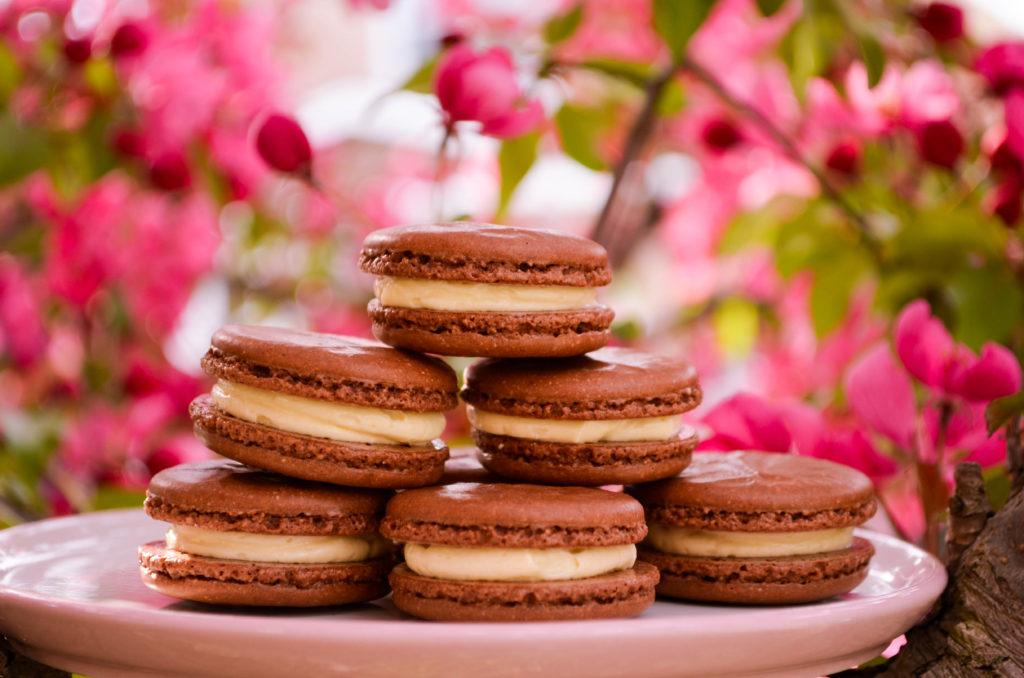 Black Forest Cake Macarons | Sophster-Toaster