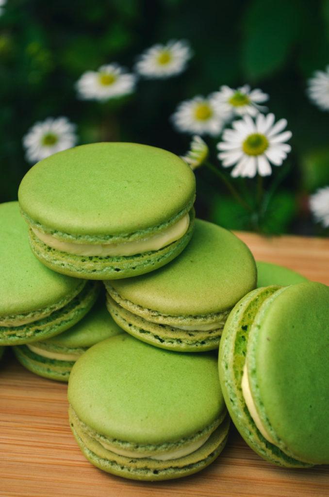 Lime & Ginger Macarons | Sophster-Toaster