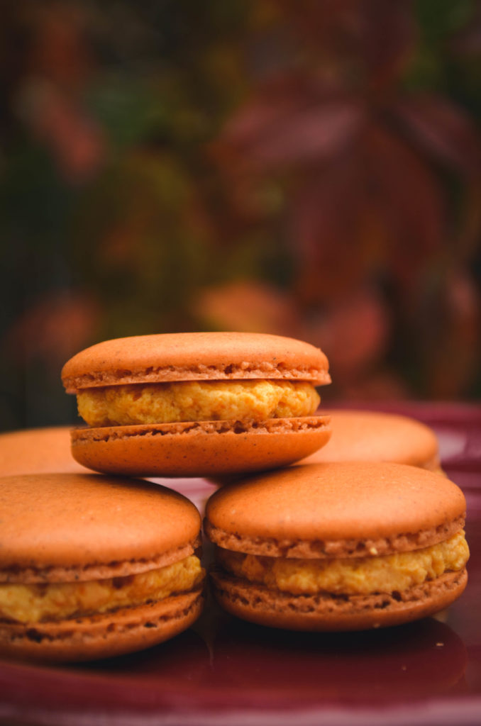 Pumpkin Spice Macarons | Sophster-Toaster