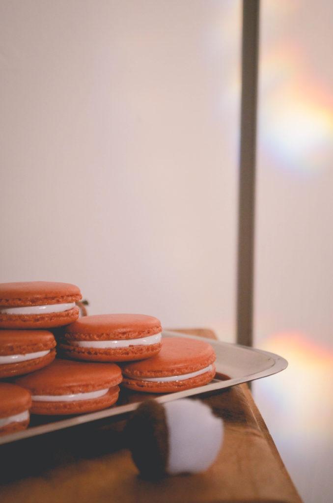 Sweet Potato & Marshmallow Macarons | Sophster-Toaster