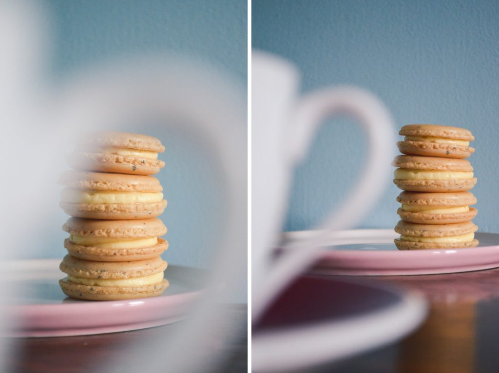 Earl Grey + Wildflower Honey Macarons | Sophster-Toaster