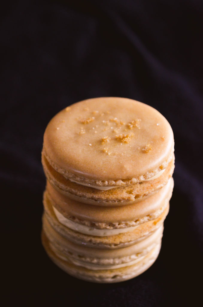 Brown Sugar Macarons   Sophster-Toaster