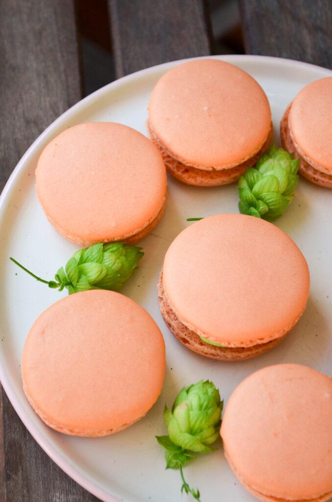 Grapefruit & Hop Macarons | Sophster-Toaster